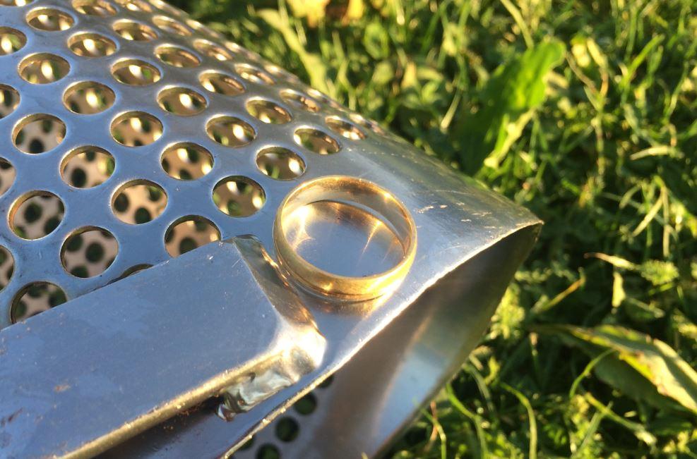 Ring Gevonden Gouden Ham