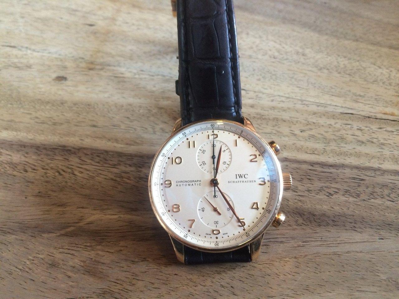 IWC Schaffhausen Chronograph Automatic Verloren