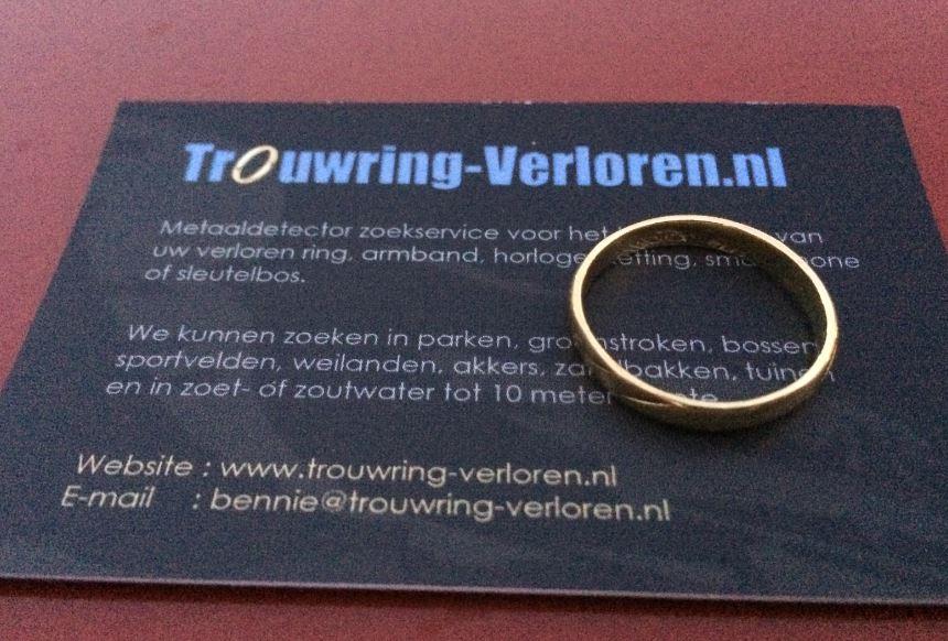 Trouwring Verloren in Hoofddorp