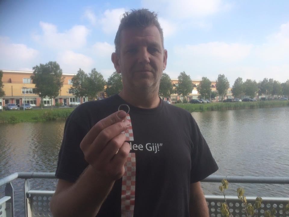 Trouwring verloren in Nieuw-Vennep